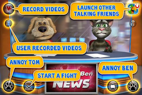Talking Tom & Ben News ��� Android OS