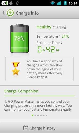 Программа для контроля заряда батареи андроид
