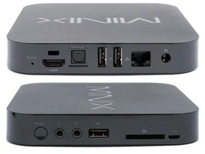 MiniX Neo X5 разъёмы