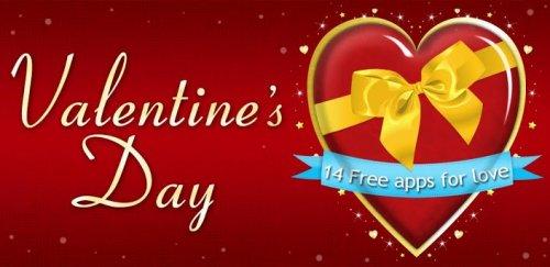 VALENTINES DAY - праздничное приложение к прошедшему празднику