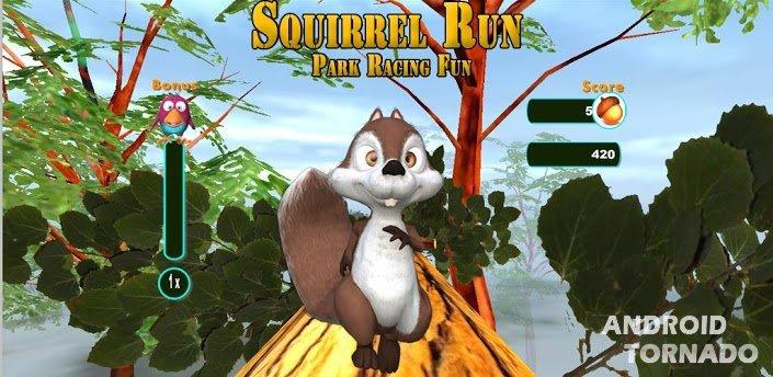 Squirrel run для android – это возможность
