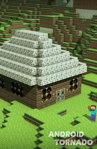 ����� ���� Minecraft World � ������� � �����