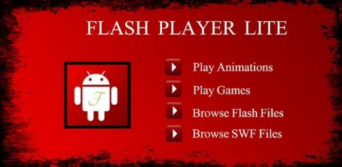 Flash Player Lite для Android