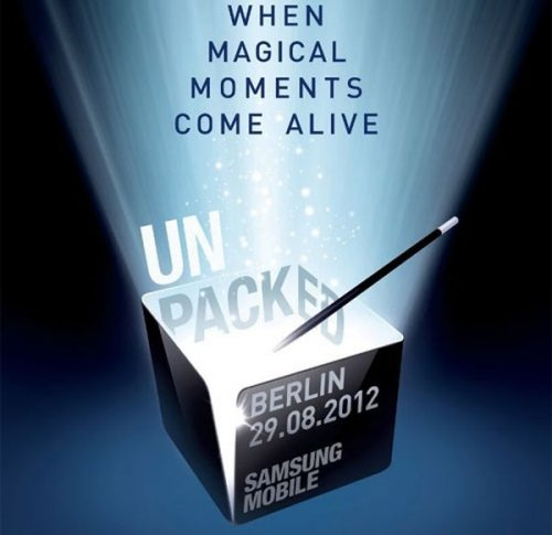 На Berlin Unpacked event покажут Galaxy Note 2