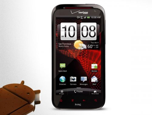Android 4.0 ICS уже на HTC Rezound