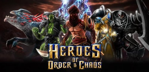 Heroes of order and chaos - боевая арена для Android