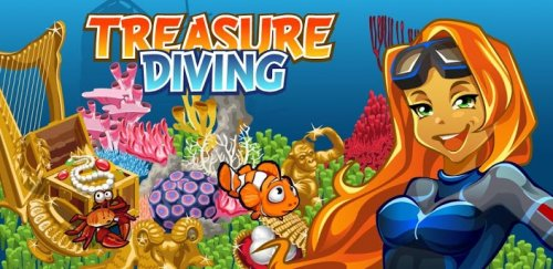 Treasure diving - поиск сокровищ на Android