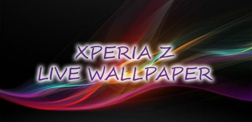 Xperia Z live wallpaper  - стильные обои для Android