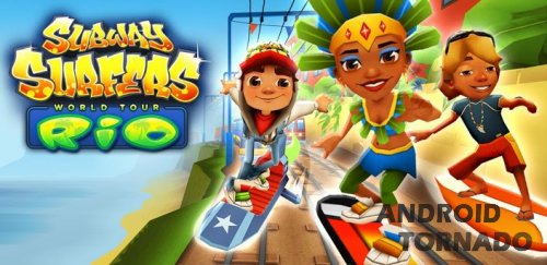 Subway Surfers - World Tour Rio прохождение