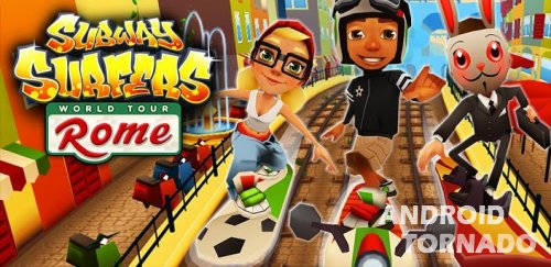 Subway Surfers - интересная игра для Android