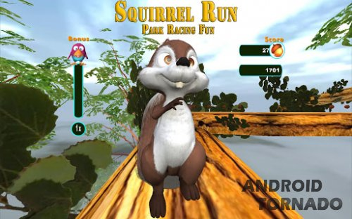 Squirrel Run - Park Racing Fun - бегалка для Android