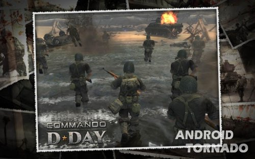 FRONTLINE COMMANDO: D-DAY - новая игра для Android