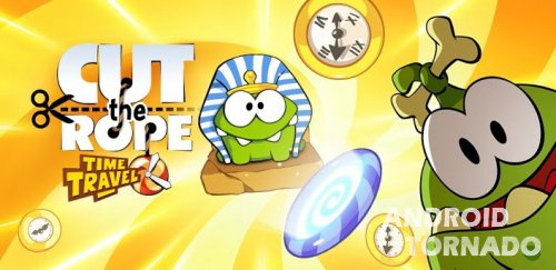 Cut the Rope: Time Travel - Ам Ням и предки для Android