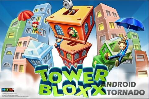 Tower Builder Bloxx - строим дома на Android