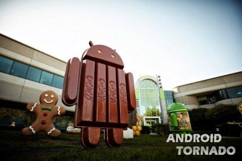 Новая версия Android: Android 4.4. KitKat