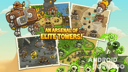 Kingdom Rush Frontiers прохождение