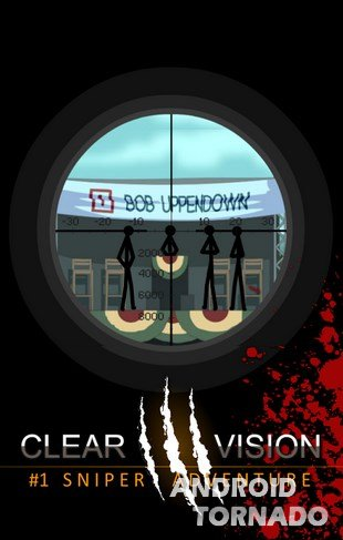 Clear Vision 3 - Sniper Shooter прохождение (1-5)
