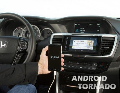 Honda Accord 2016 выйдет с Android Auto на борту
