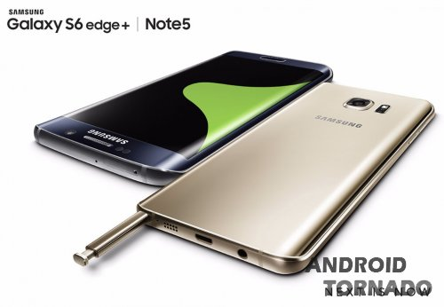 Samsung Unpacked: Galaxy Note 5 и Galaxy S6 Edge+, анонс часов Gear S2