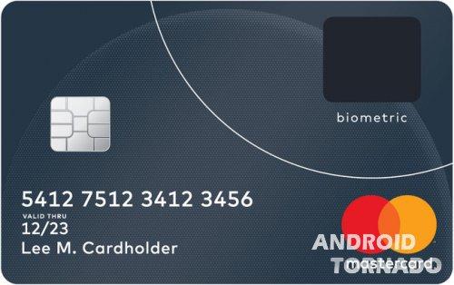 Mastercard начинает тестирование пластиковых карт с дактилоскопическим сканером