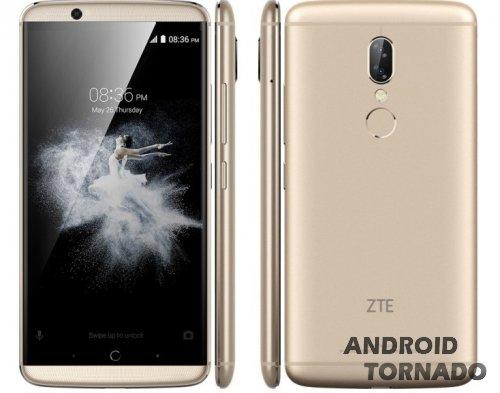 В ZTE официально назвали характеристики Axon 7s