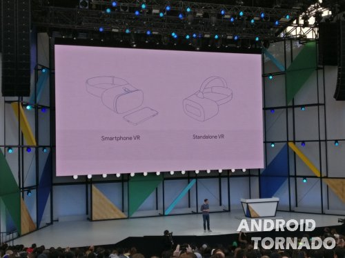 Google I/O 2017 день 1:  Android O Beta, Google Lens и VR