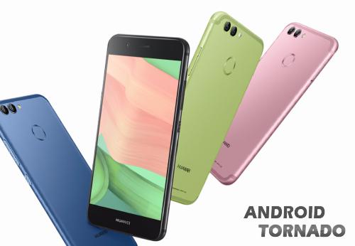 В Китае представлены смартфоны Huawei Nova 2 и Nova 2 Plus