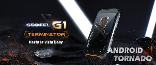 Geotel готовит прочный и долгоиграющий смартфон G1 Terminator