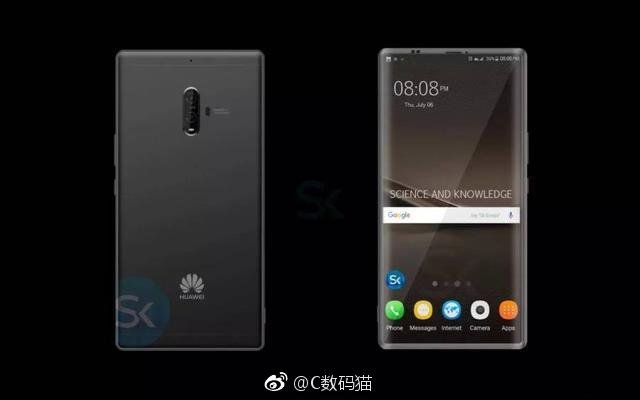 Huawei планирует превзойти iPhone 8 повсем параметрам