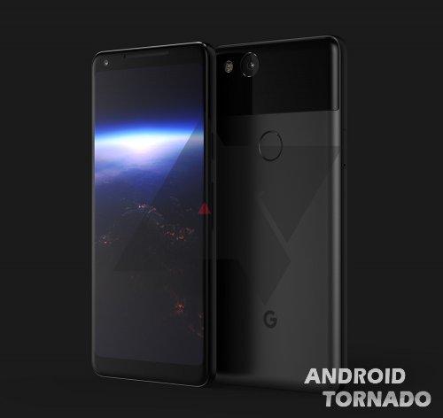 В сеть попал рендер Google Pixel XL 2