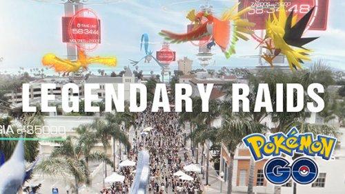 Как поучаствовать в ловле первого легендарного покемона Pokemon GO 22 июля