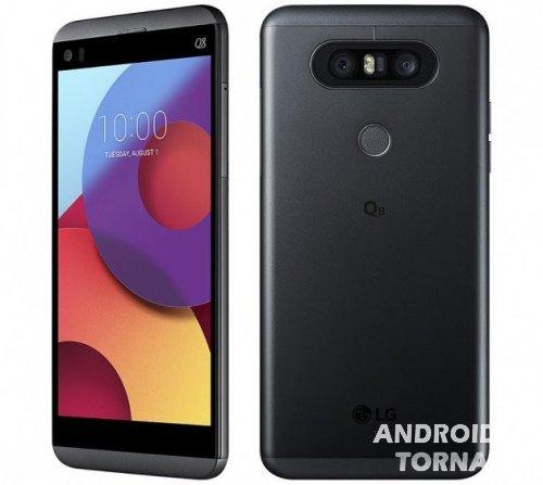 Вышел смартфон LG Q8 — V20 в миниатюре