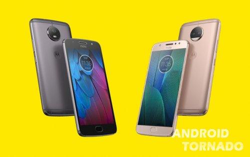 Moto G5S и Moto G5S Plus представлены официально