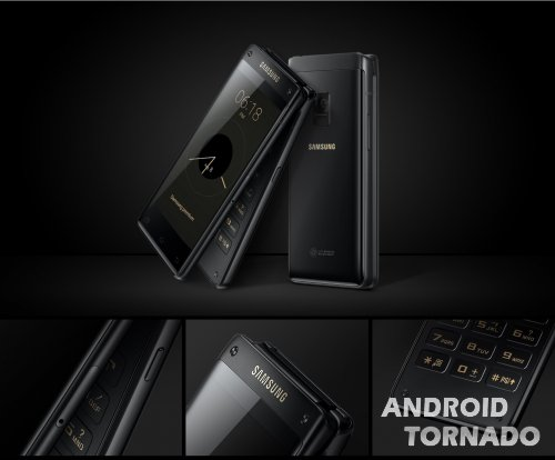 Samsung запускает смартфоны-раскладушки Leader 8  и  Galaxy Folder 2