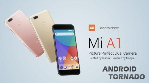 Xiaomi Mi A1: новинка с Android One от Google
