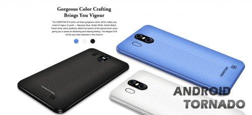 Homtom S16: 5.5-дюймовый полноэкранный смартфон за $65