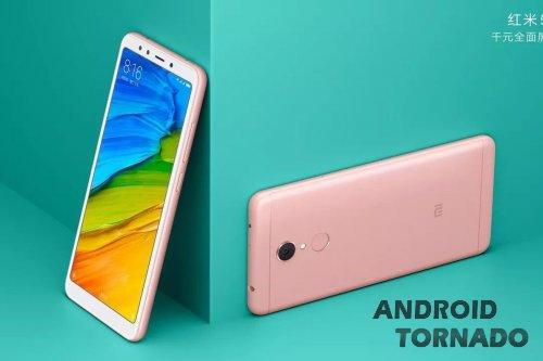 У Xiaomi Redmi 5 и 5 Plus подросла диагональ