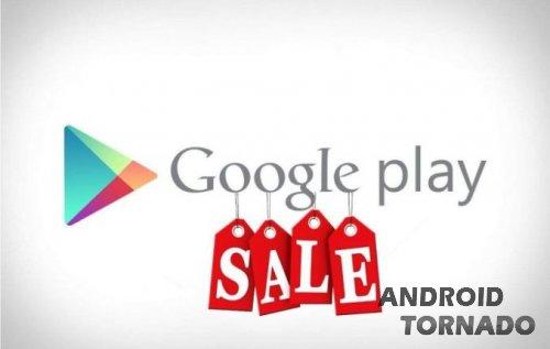 Google Play запускает 12-дневные скидки
