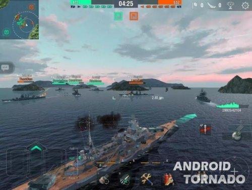 World of Warships Blitz: Android и кроссплатформенность