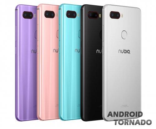 ZTE Nubia: запуск Z18 Mini и планы запустить серию игрофонов Red Magic